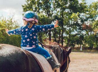 När barnen vill lära sig att rida